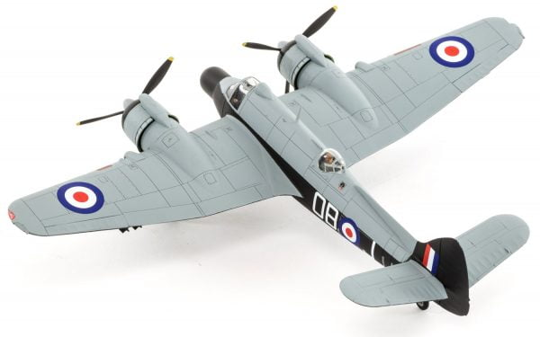 Completed 4 Airfix Bristol Beaufighter Mk.X Late 1:72 Scale A05043