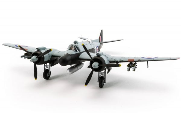 Completed Airfix Bristol Beaufighter Mk.X Late 1:72 Scale A05043