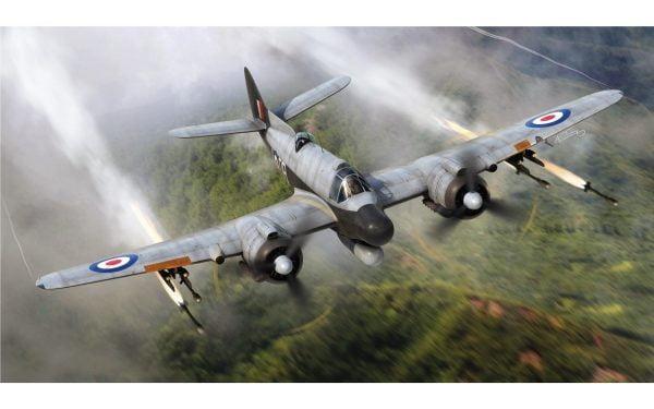 In Flight 2 Airfix Bristol Beaufighter Mk.X Late 1:72 Scale A05043