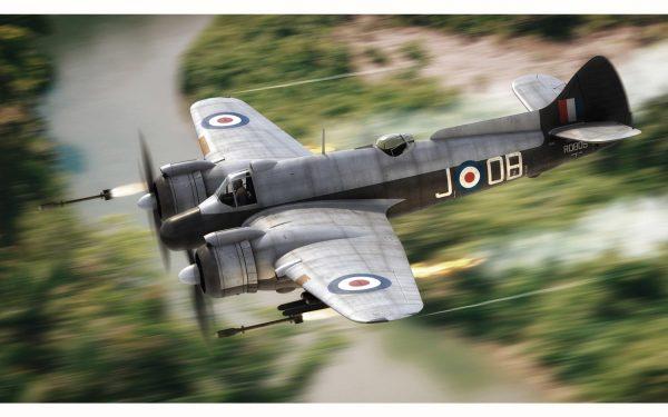 In Flight Airfix Bristol Beaufighter Mk.X Late 1:72 Scale A05043
