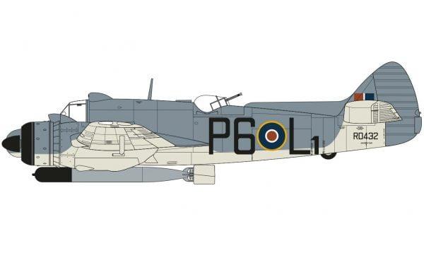 Markings Airfix Bristol Beaufighter Mk.X Late 1:72 Scale A05043