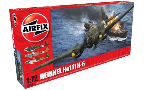 Airfix Heinkel He III H-6 1:72 Scale A07007
