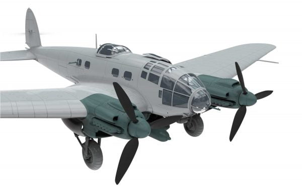 Bare 3 Airfix Heinkel He III H-6 1:72 Scale A07007