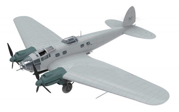 Bare Airfix Heinkel He III H-6 1:72 Scale A07007