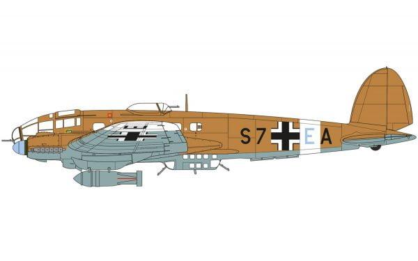 Markings 2 Airfix Heinkel He III H-6 1:72 Scale A07007