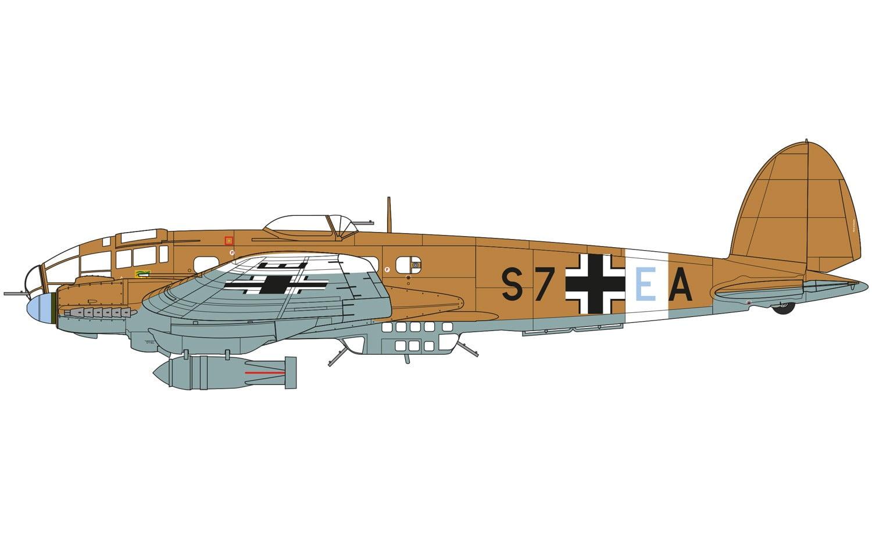 Airfix Heinkel He Iii H 6 1 72 Scale A07007