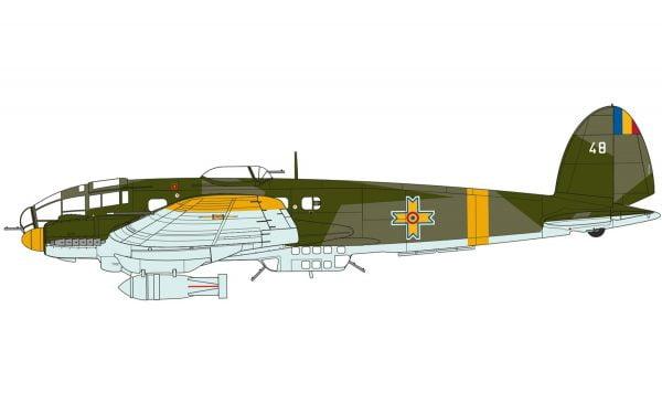 Markings 3 Airfix Heinkel He III H-6 1:72 Scale A07007