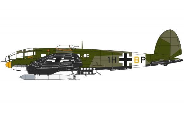 Markings Airfix Heinkel He III H-6 1:72 Scale A07007
