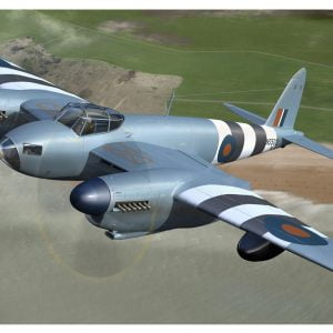 In Flight Airfix De Havilland Mosquito PRXVI 1:48 Scale A07112