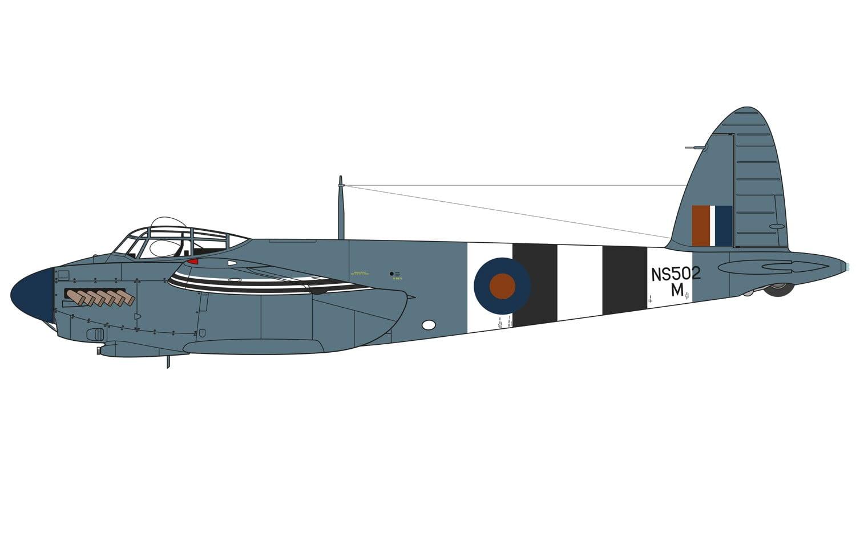 Airfix A07112 De Havilland Mosquito Prxvi 1 48 A07112