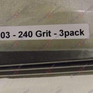 Alpha Abrasives Detail Tapered Files 240 Grit ALB D1103