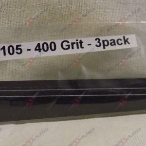 Alpha Abrasives Detail Tapered Files 400 Grit ALB D1105