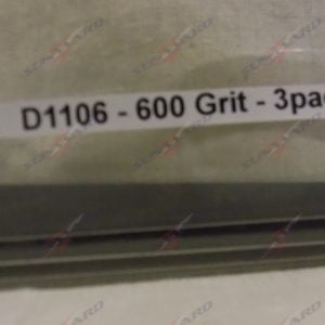Alpha Abrasives Detail Tapered Files 600 Grit ALB D1106