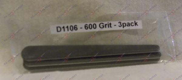 Alpha Abrasives Detail Tapered Files 600 Grit ALB D1106