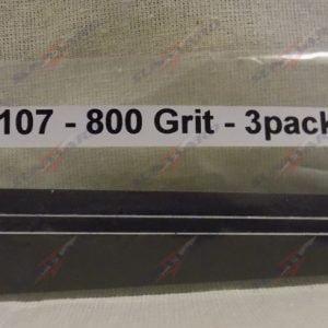 Alpha Abrasives Detail Tapered Files 800 Grit ALB D1107