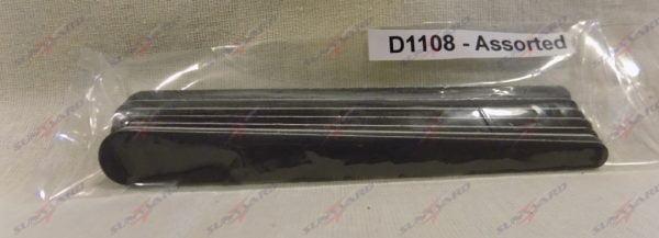 Alpha Abrasives Detail Tapered Files Assorted Grit ALB D1108
