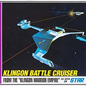 Star Trek Klingon Battle Cruiser Standard Edition AMT 720