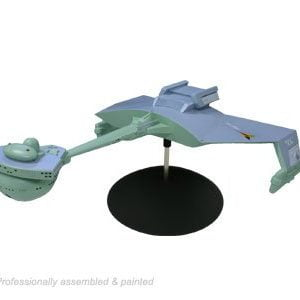 Front Star Trek Klingon Battle Cruiser Standard Edition AMT 720