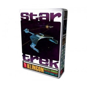 Star Trek Klingon Battle Cruiser Collectors Edition Model Kit and Lunch Tin by A