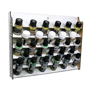 Vallejo Wall Mounted Paint Display for 35 and 60 ml Bottles 26009