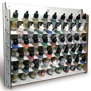 Vallejo Wall Mounted Paint Display for 17 ml Bottles 26010