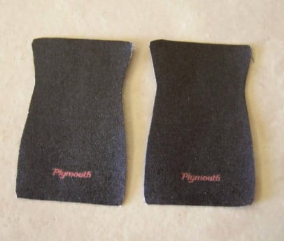 Plymouth Car Mat Set by Plastic Dreams PTD-519