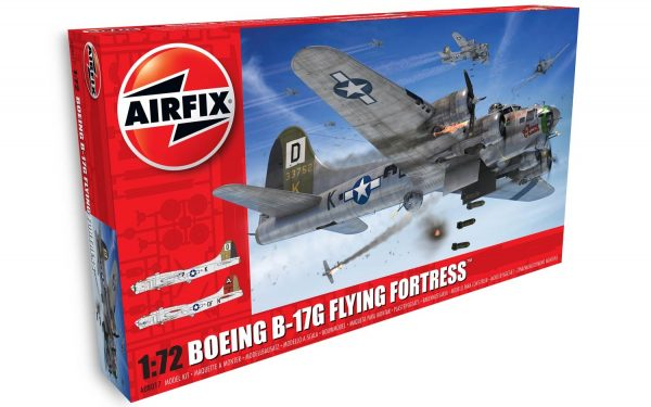 Boeing B-17G Flying Fortress 1:72 by Airfix A08017