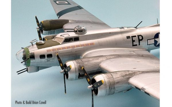 Completed Top a Boeing B-17G Flying Fortress 1:72 A08017
