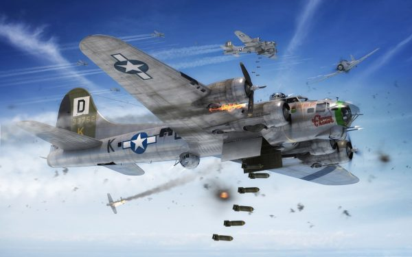 In Battle Boeing B-17G Flying Fortress 1:72 A08017