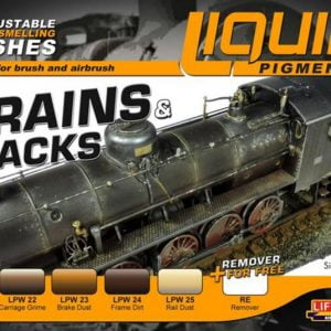 Lifecolor Liquid Pigments Trains and Tracks LP05