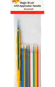 Magic Brushes Assorted with Applicator Handle by Alpha Abrasives ALB MB05