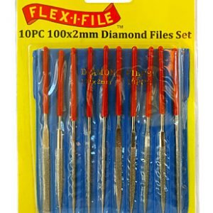 Diamond File Set 10 Piece by Flex-I-File FD240P