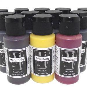 Badger Minitaire GHOST TINT Paint Set D6-12GT