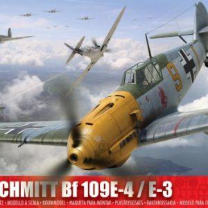 Messerschmitt Bf109E-4 E-3 1:24 A12002