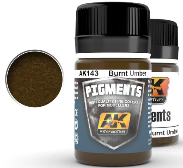 Burnt Umber Pigment by AK Interactive AKI 143