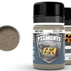 City Dirt Pigment by AK Interactive AKI 145