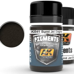 Burnt Jet Engine Pigment by AK Interactive AKI 2041