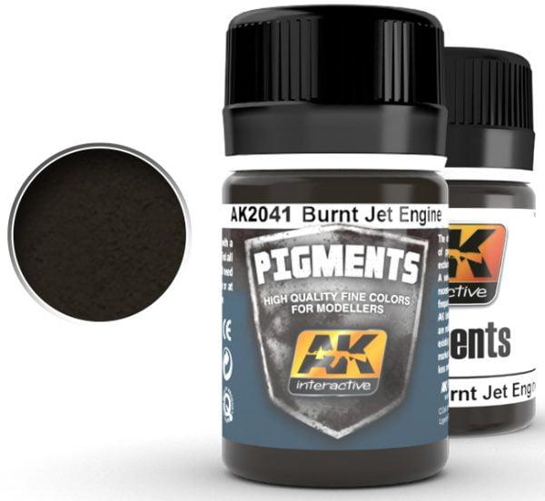Burnt Jet Engine Pigment by AK Interactive AKI 2041
