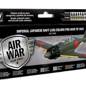 Vallejo Imperial Japanese Navy IJN Colors Paint Set 71169