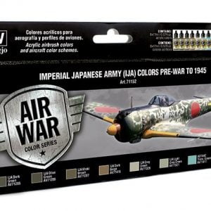 Vallejo Imperial Japanese Army IJA Colors Paint Set 71152