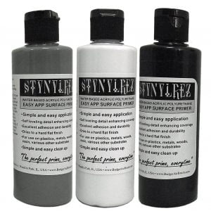 Set of 3 Tone Pack Stynylrez Primer by Badger Airbrush SNR-410