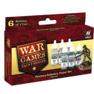 Vallejo German Infantry Paint Set 70154