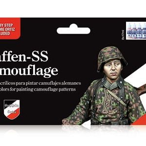 Vallejo Waffen Camouflage Paint Set 70180