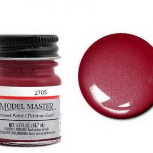 Model Master Car and Truck Enamel Paint Burgandy Red Metallic 270509