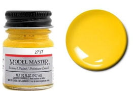 Model Master Car and Truck Enamel Paint Bright Yellow 2717