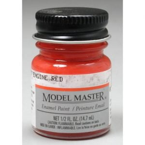 Model Master Car and Truck Enamel Paint Chevrolet Engine Red 273102