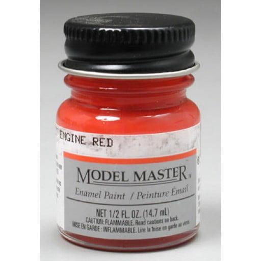 Model Master Car And Truck Enamel Paint Chevrolet Engine
