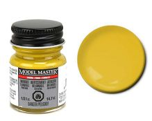 Model Master Car and Truck Enamel Paint Gloss Dark Yellow 275403