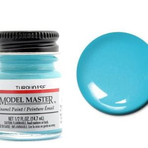 Model Master Car and Truck Enamel Paint Turquoise 276501