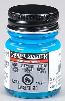 Model Master Car and Truck Enamel Paint Gloss Light Bright Blue 2766